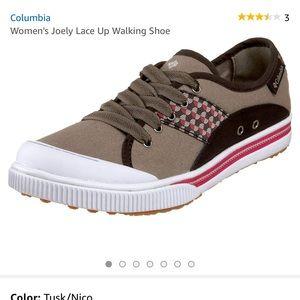 NWOT Columbia Sneakers.  Unique! Sz 10